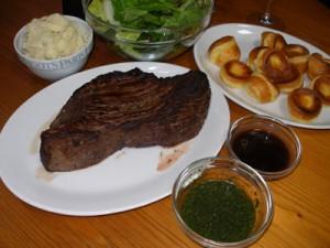 Roast BeefとYorkshire Pudding