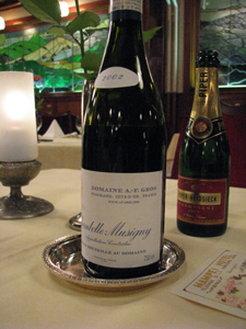 Chambolle-Musigny 2002 DOMAINE A.-F.GROS