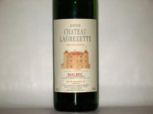 Chateau Lagrezette 2002