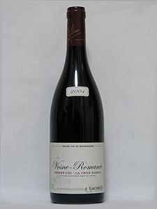 Vosne - Romanée 2004  J・Cacheux