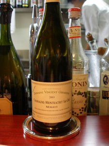 Chassagne-Montrachet 1er Cru Morgeot 2003 Domaine Vincent Girardin