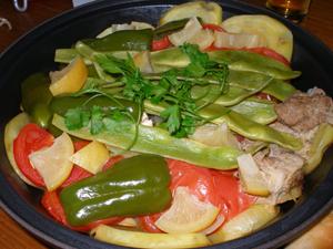 Lemon Chicken Tajine