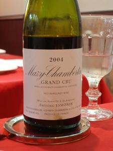 Mazy-Chambertin Grand Cru 2004 Frédéric Esmonin