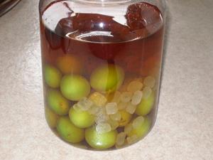 ハイニッカの梅酒 (仕込み)