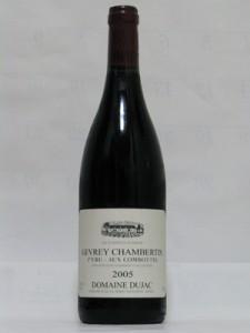 GEVREY CHAMBERTIN 2005 DOMAINE DUJAC