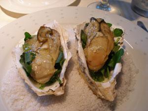 牡蠣の5分間薫製