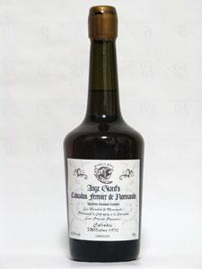 Ange Girard's Calvados Millésimé 1972