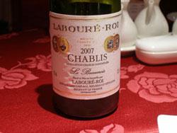 CHABLIS 2007 LABOURE-ROI