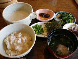 箱根 自然薯料理 しずく亭