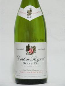 Corton Grand cru  Les Bressandes Dm. Gaston & Pierre RAVAUT  1998