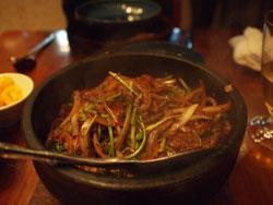 石锅孜然羊肉
