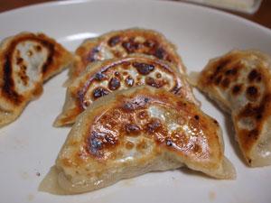 自家製水餃子と麻婆豆腐
