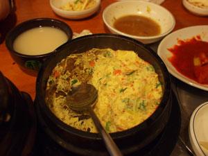 大久保の某韓国料理店