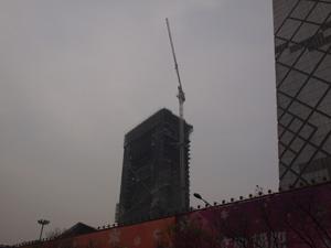 復活?中央电视台新大楼北配楼