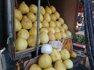 南糯山の市場